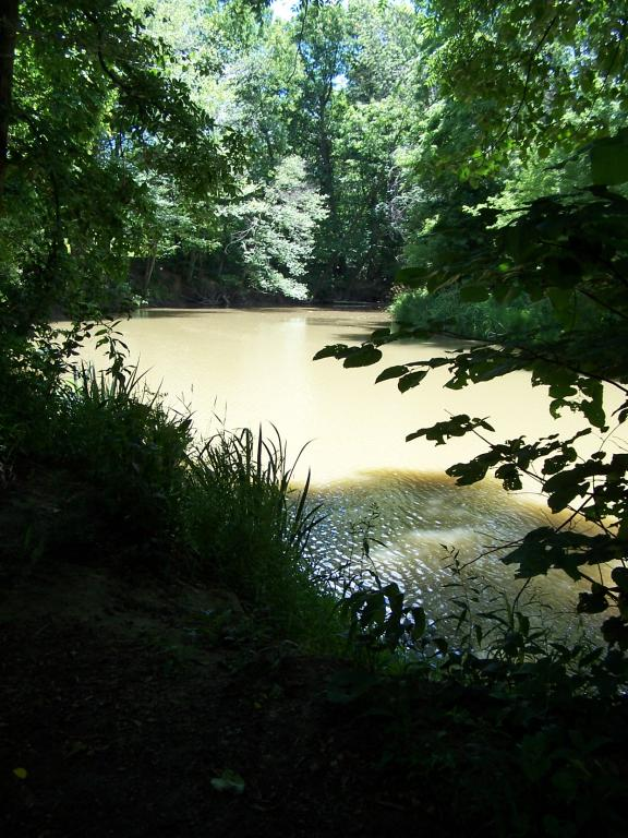 The Belle River at East China Twp Park
