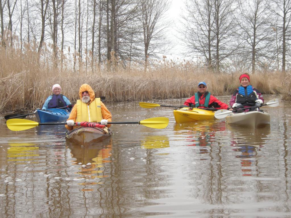 group kayak